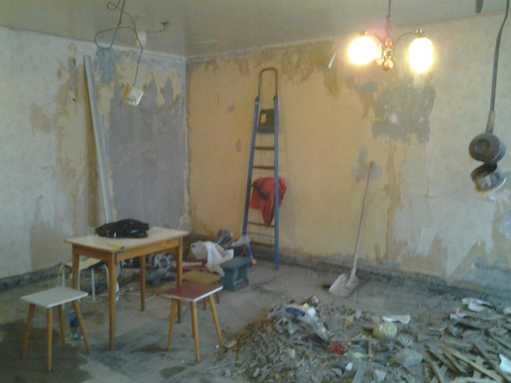 Ремонт в старых квартирах