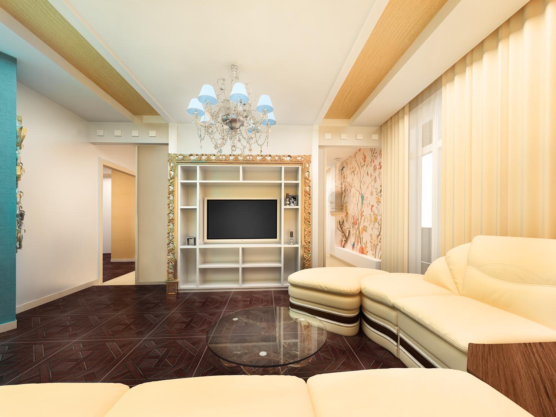 Ремонт зала ремонт гостиной комнаты